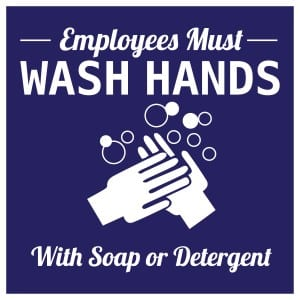 Generic handwashing sign 8