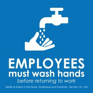 New York handwashing sign 2