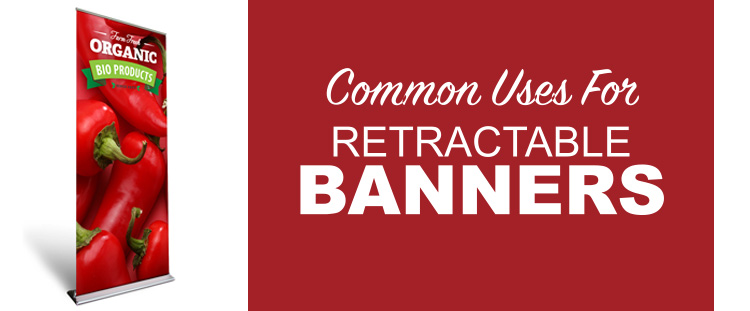 Common uses for retractable banner feature image