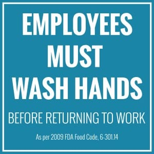 Washington handwashing sign 2
