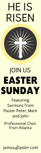 retractable banner church charity easter