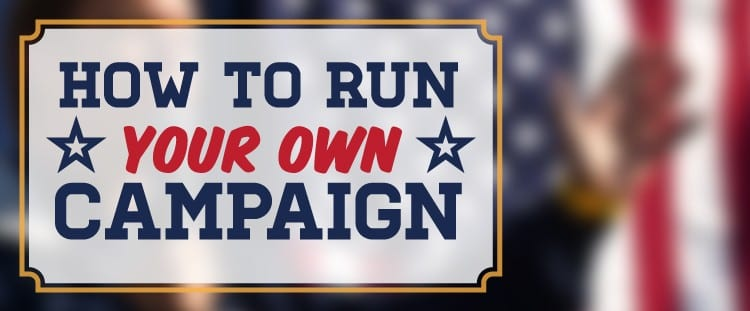 Run Your Own Campaign Header