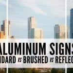 Aluminum Signs Feature Image