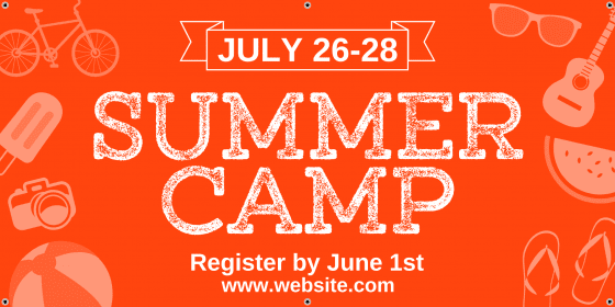 Click to customize this banner for your summer camp.