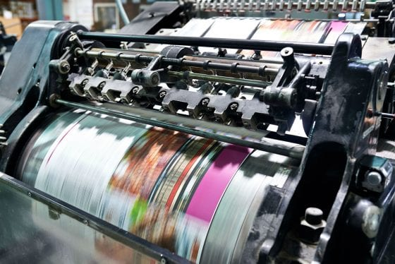 Offset Printing example