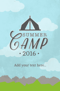 Click to customize this advertisement for your summer camp.