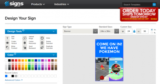 Design Tool Pokemon