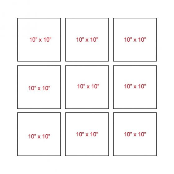 Canvas grid layout