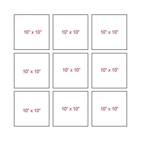 Canvas grid layout