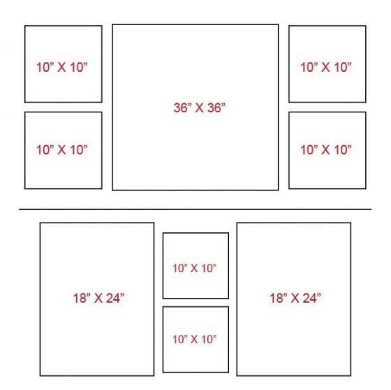 Canvas wrap layout