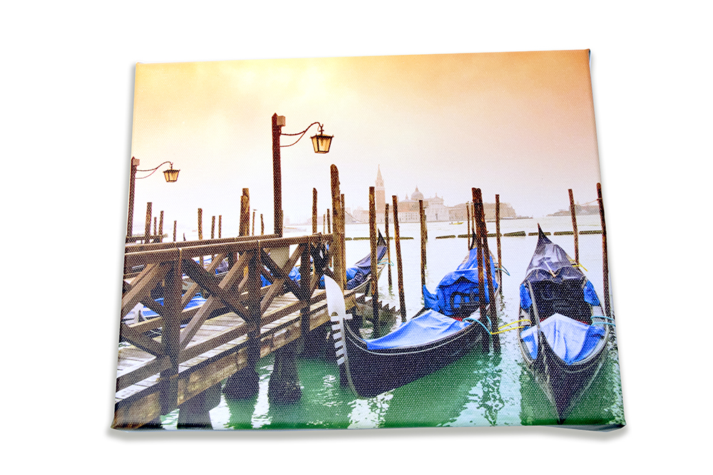 Canvas Photo Print Example