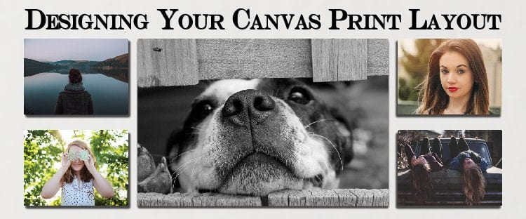 Canvas print layout feature image