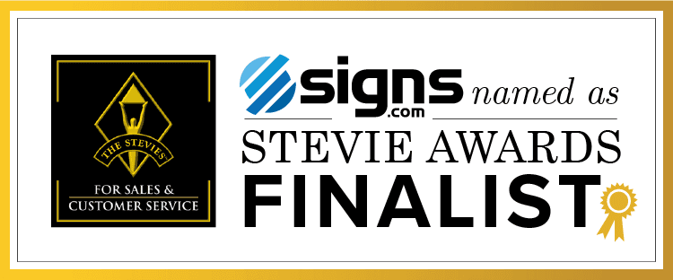 Signs.com Stevie Awards Finalists