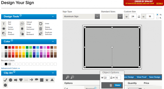 design tool adding additional square