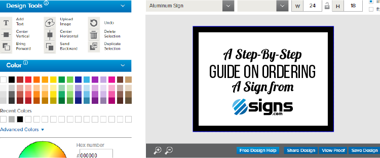 How to order a sign feature image