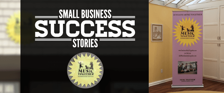 Sunshine Music Together Small Business Success