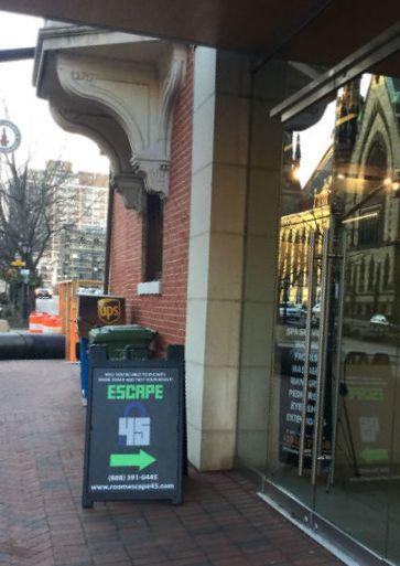 escape 45 storefront