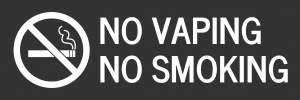 Connecticut no vaping template