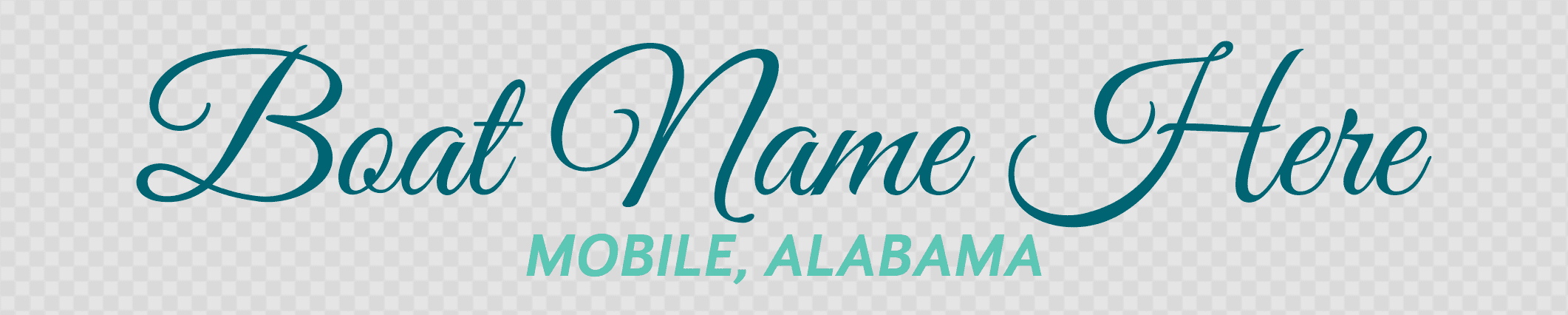 Alabama hailing port template