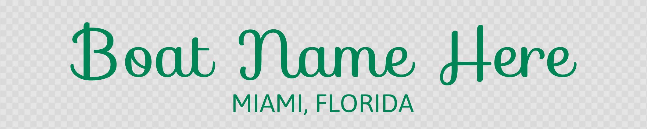 Florida hailing port