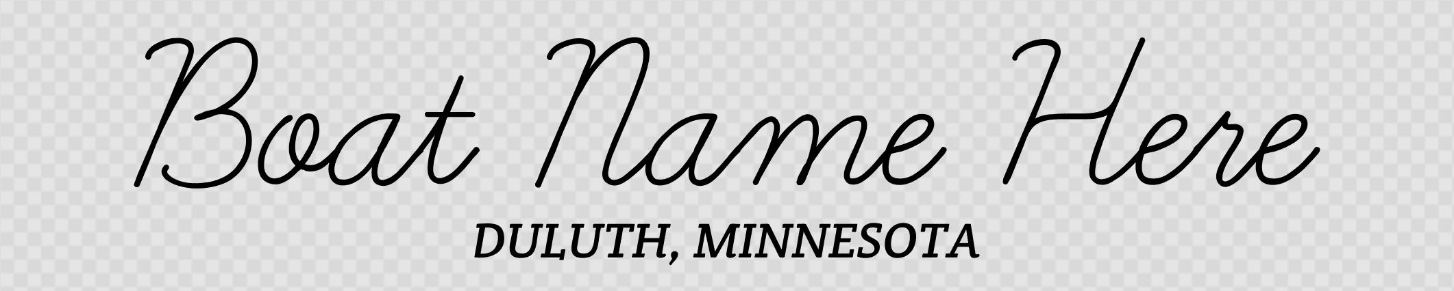 Minnesota hailing port template