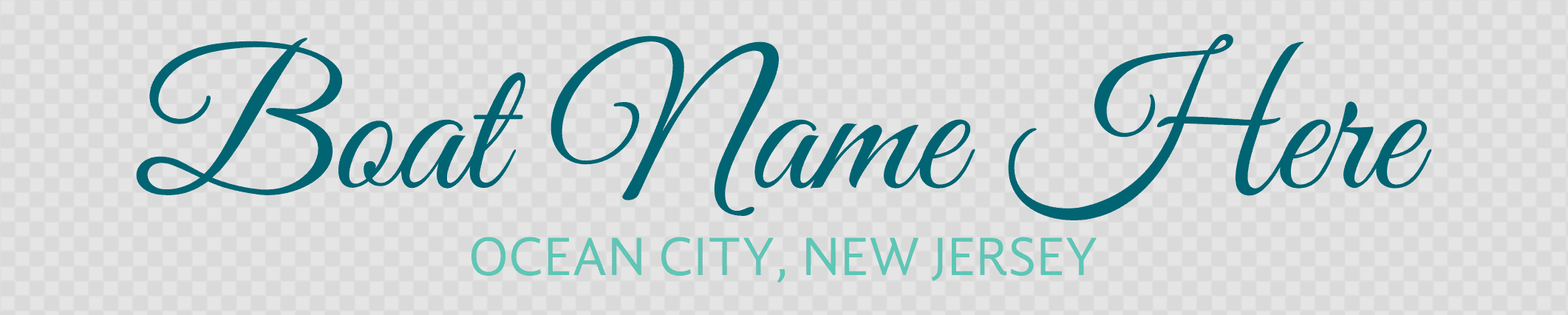 New Jersey hailing port template