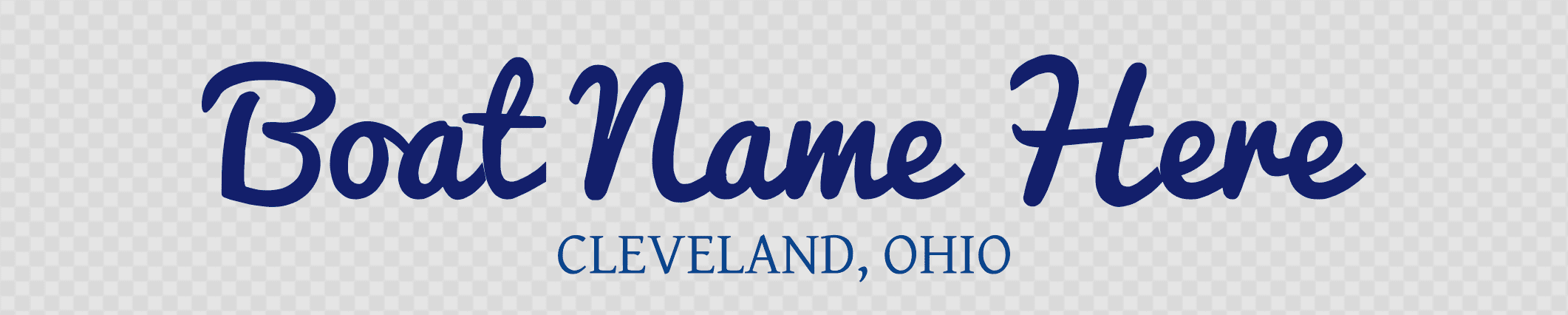 Ohio Hailing Port Template