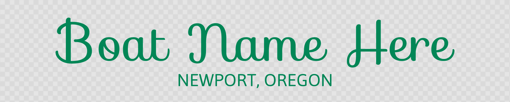 Oregon hailing port template