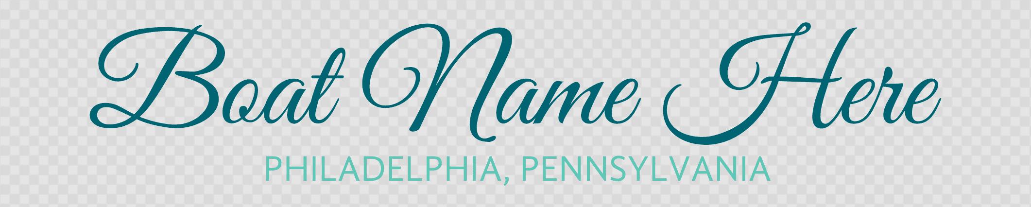 Pennsylvania hailing port template