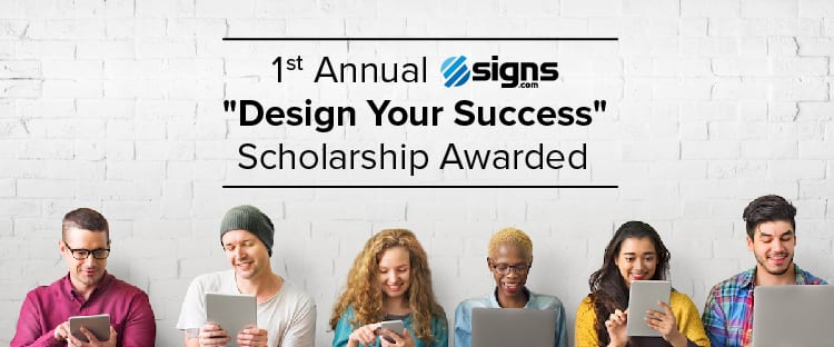 Design Your Success Scholarship Award