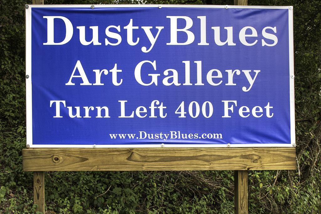 DustyBlues Blue Banner