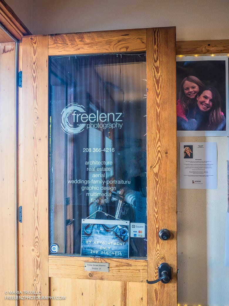 Freelenz Photography Window Decal