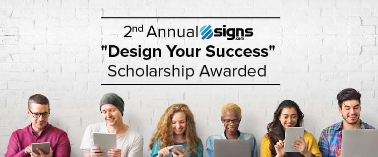 2nd Annual Design Your Success Scholarship Awarded