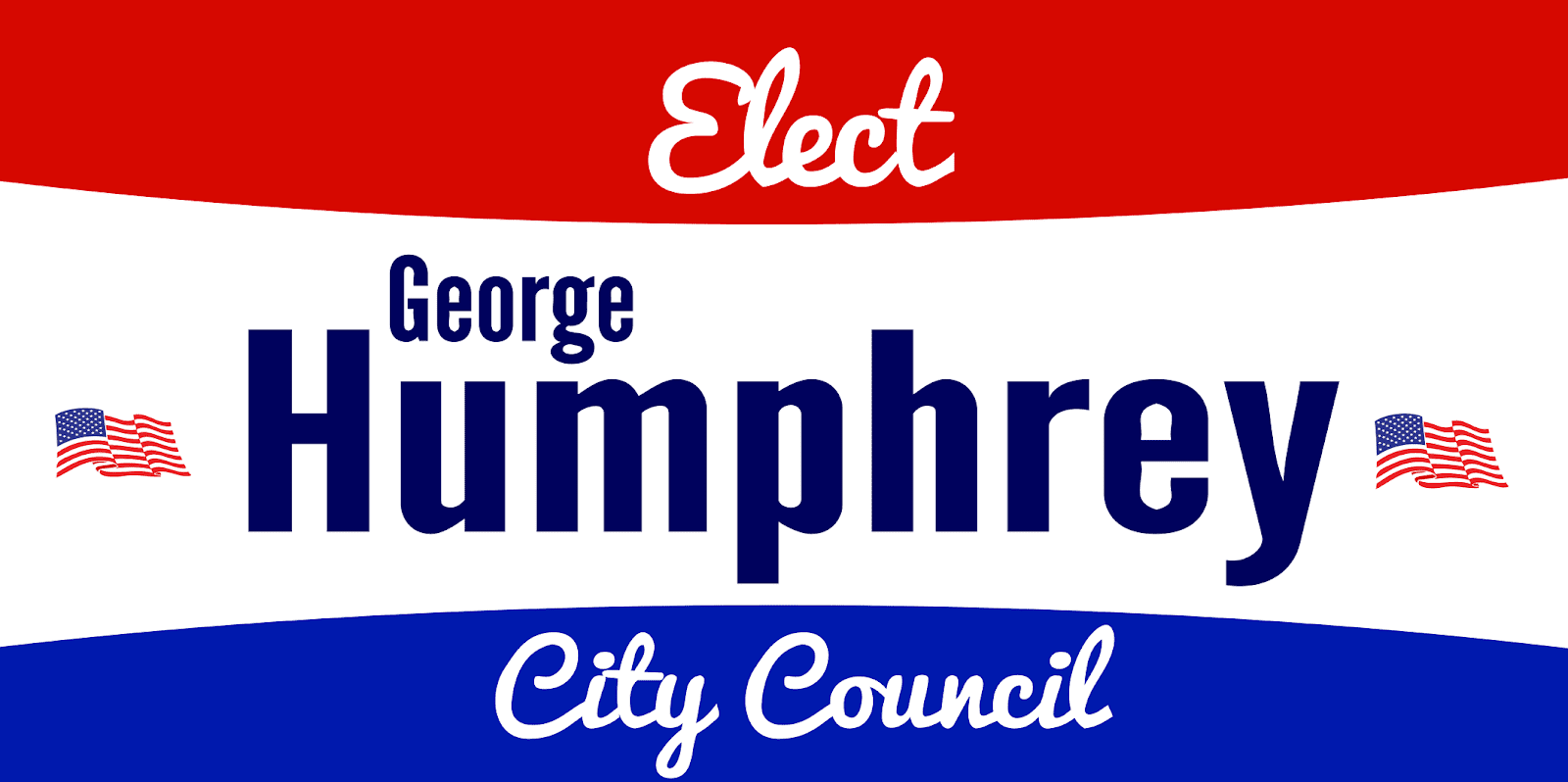 Temporary Political Sign