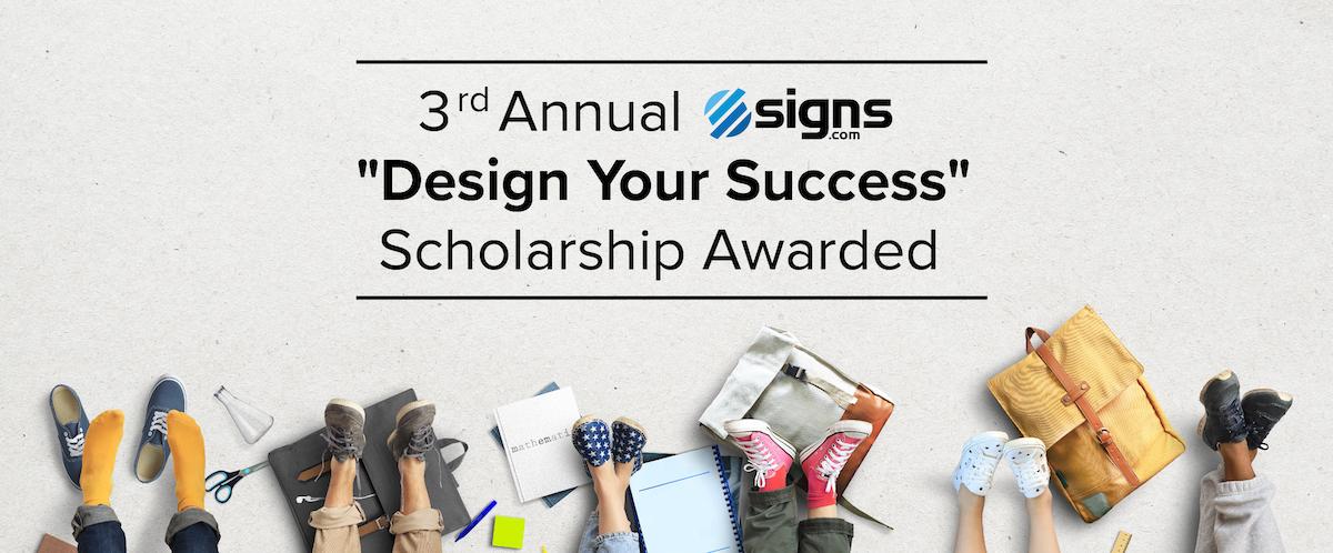 3rd Annual Design Your Success Award Announcement