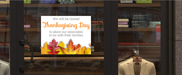 Free Thanksgiving Sign Template