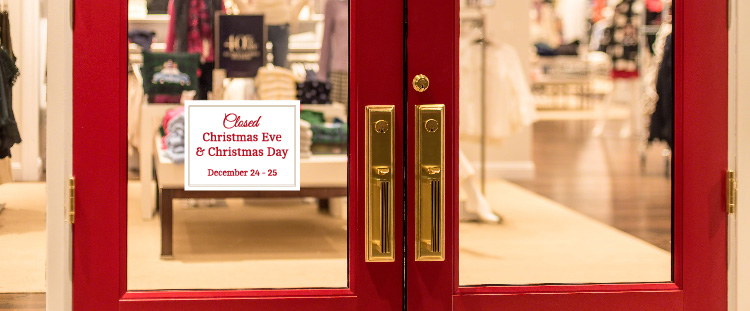 Free Christmas Template Storefront