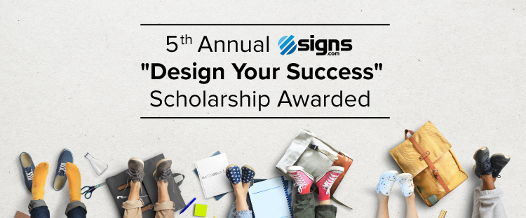 5th Annual Design Your Success Scholarship Awarded