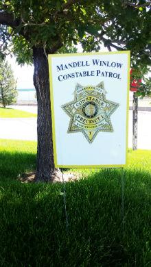 Patrol Yard Sign