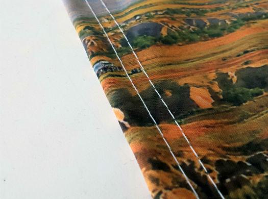 Fabric Banner Stitching
