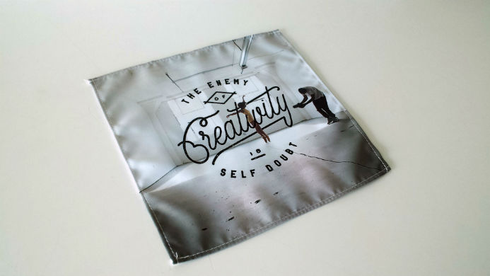 Quote Fabric Banner