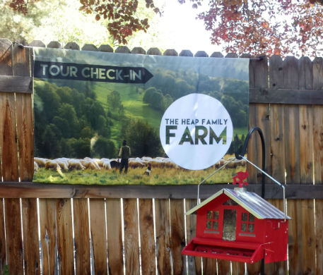 Heap Farms Fabric Banner