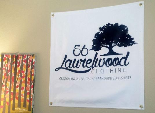 Logo Fabric Banner