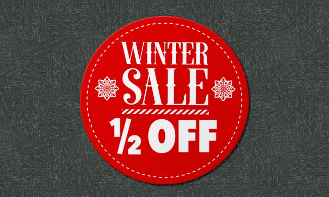 Winter Sale Carpet Graphic