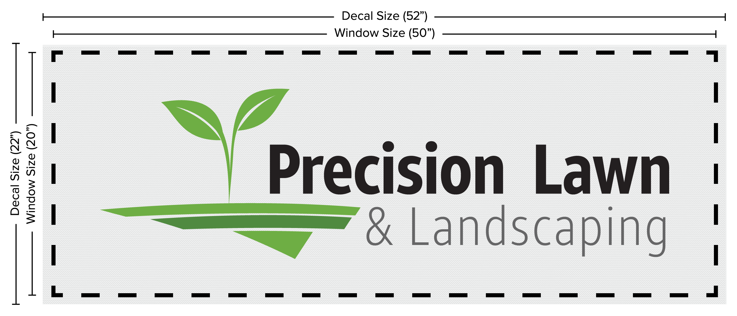 Custom Rear Window Graphics | Signs com