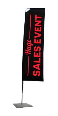 Rectangle Flag Banner Huge Sales Event