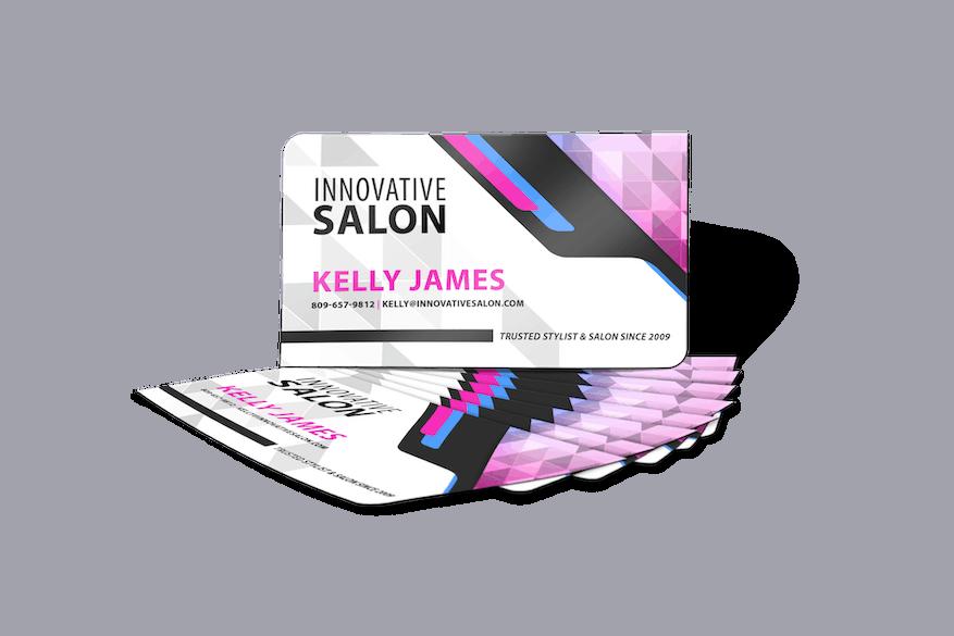 Promotional Magnets - Salon - Upright & Fan Optimized