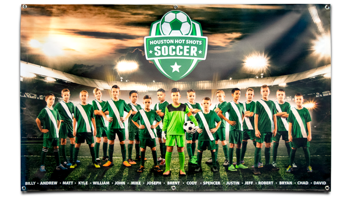 Sports Team Banners Design