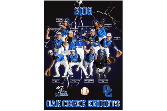 Sports Team Banner - High School Baseball