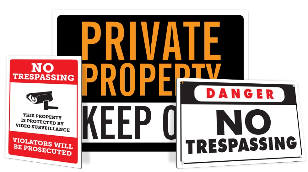 No Trespassing Signs Signs Delectable Keep Out Signs For Bedroom Doors Property